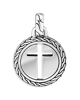 JOHN HARDY - Sterling Silver Classic Chain Cross Pendant