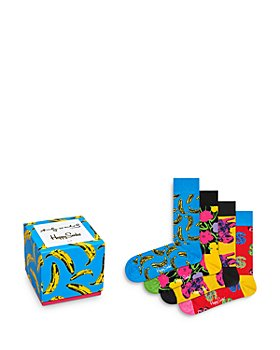 Happy Socks - Andy Warhol Socks, Box of 4 (61% off) - Comparable value $64