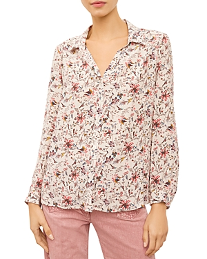Nicky Printed Button-Down Shirt