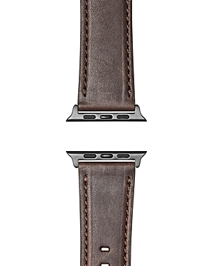 Shinola Leather Strap For Apple Watch, 24mm In British Tan
