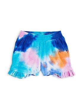 CHASER - Girls' Terrycloth Ruffle Shorts - Little Kid, Big Kid