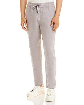 Joe's Jeans - Drawstring Waist Slim Fit Linen Pants