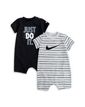 Nike - Boys' JUST DO IT and Swoosh Logo Rompers, Set of 2 - Baby