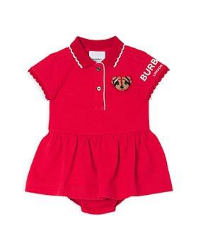 Burberry - Girls' Emiko Bear Polo Shirt Dress - Baby