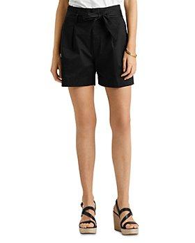 Ralph Lauren - Pleated High Rise Shorts