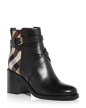Burberry - Women's Pryle Block Heel Booties