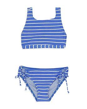 Splendid - Girls' Atmos High Square Neck Two Piece Swimsuit - Big Kid