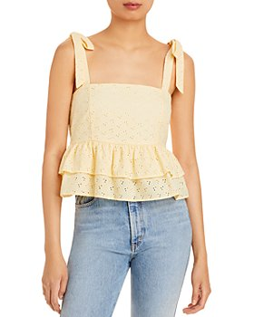 Lost and Wander - Sunset Soiree Peplum Top