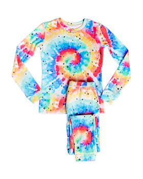 PJ Salvage - Girls' Tie Dye Pajama Set - Little Kid, Big Kid