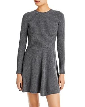 Aqua Cashmere A Line Cashmere Dress - 100% Exclusive