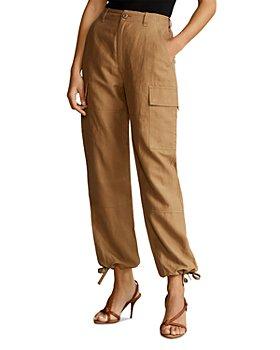 Ralph Lauren - Silk-Blend Cargo Pants