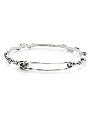 Alexander McQUEEN Skull Safety Pin Bracelet