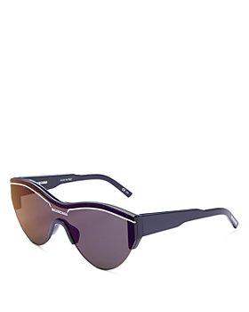 Balenciaga - Unisex Cat Eye Mask Sunglasses, 145mm