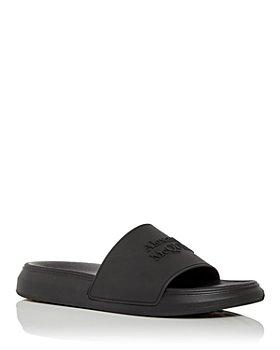 Alexander McQUEEN - Men's Logo Slide Sandals