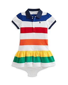 Ralph Lauren - Girls' Striped Polo Dress - Baby