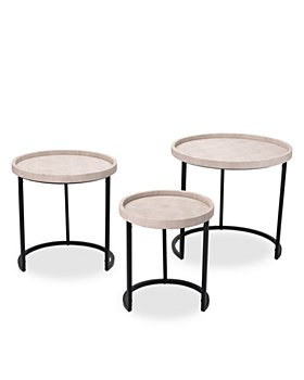 Bloomingdale's - Maddox Side Tables, Set of 3
