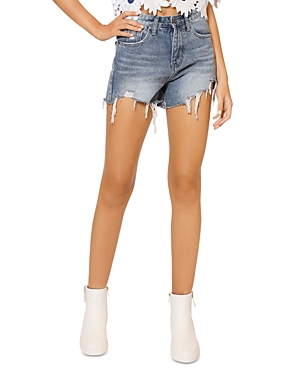 Ultra Distressed Denim Shorts (36% off) Comparable value $55