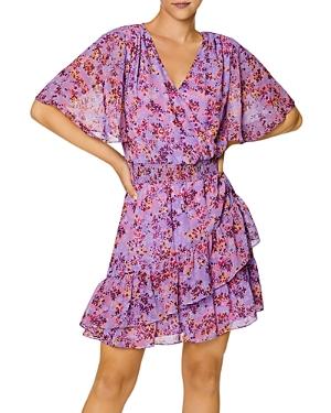 Printed Smocked Waist Dress