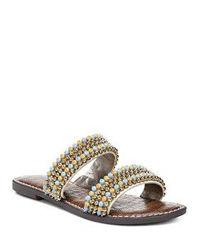 Sam Edelman - Women's Galore Embellished Slide Sandals
