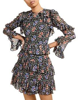 Ted Baker - Ruffle Mini Dress