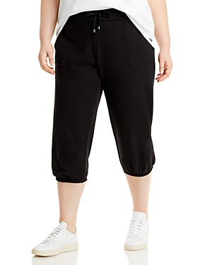 Off Duty French Terry Crop Pants