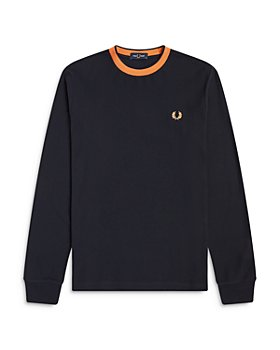 Fred Perry - Crepe Long Sleeve Tee