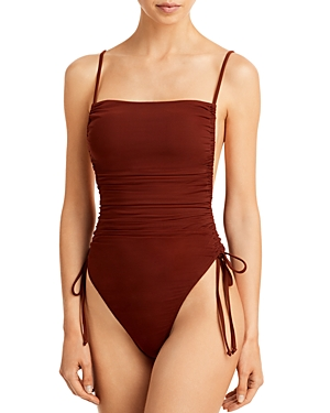 Adan Ruched One Piece Swimsuit
