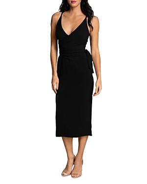 Kiara Bodycon Crepe Midi Dress