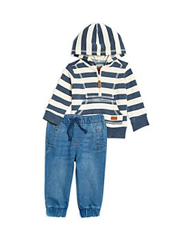 7 For All Mankind - Boys' Hoodie & Joggers Set - Baby