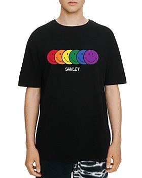 Eleven Paris - Rainbow Smiley Graphic Tee