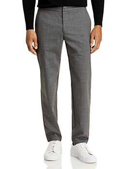 Theory - Curtis Hidden Drawstring Stretch Wool Relaxed Fit Pants
