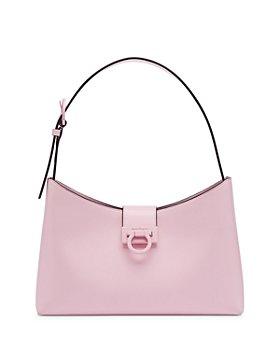 Salvatore Ferragamo - Trifolio Leather Shoulder Bag
