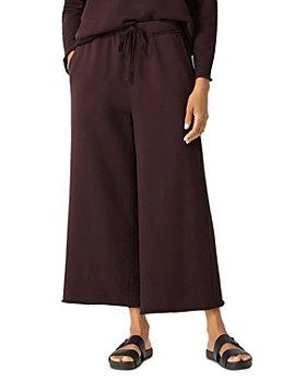 Eileen Fisher - Wide Leg Cropped Pants