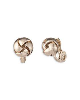 Ralph Lauren - Knot Stud Clip On Earrings