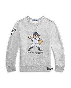 Ralph Lauren - Boys' New York Yankees™ Polo Bear Sweatshirt - Little Kid, Big Kid