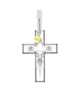 Waterford - Cross Ornament