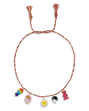 Charm Cord Necklace