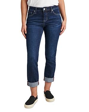 Carter Girlfriend Jeans in Night Breeze