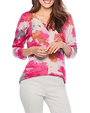Nic+Zoe Sunset Blooms Sweater