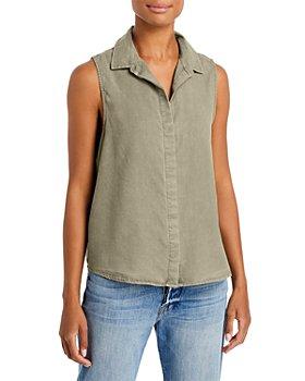 Bella Dahl - Sleeveless Button Front Shirt