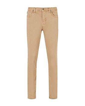 John Varvatos Star USA - Bowery Slim Straight Jeans in Sandstone