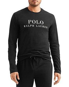Polo Ralph Lauren - Cotton Logo Graphic Long Sleeve Sleep Tee