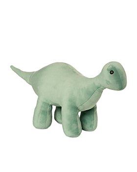 Manhattan Toy - Velveteen Dino Stomper (Brontosaurus) Stuffed Animal Dinosaur - Ages 0+