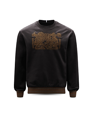 Front Embroidered Sweatshirt