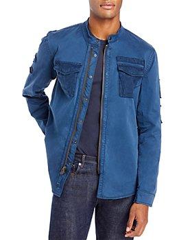 John Varvatos Star USA - Rodes Zip Front Shirt Jacket