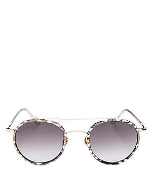 Unisex Porter Round Sunglasses