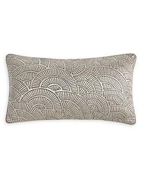 """Hudson Park Collection - Deco Fan Decorative Pillow, 12"""" x 22"""" - 100% Exclusive"""