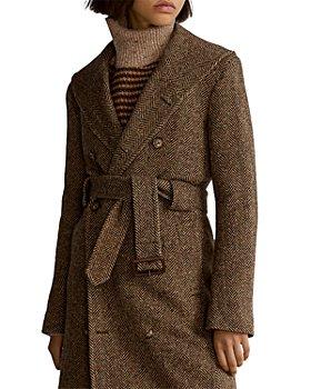 Ralph Lauren - Herringbone Tweed Trench Coat