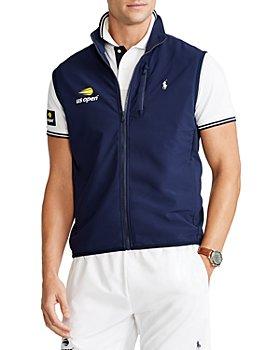 Polo Ralph Lauren - Stretch US Open Print Full Zip Hybrid Vest