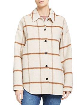Theory - Oversized Shirt Jacket
